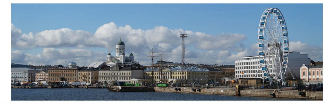 Panorama Helsinkija