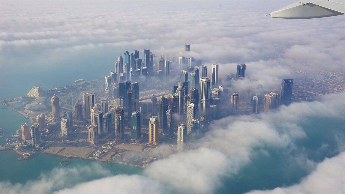 Doha iz aviona