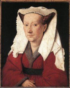Jan van Ajk - portrer Margarete van Ajk