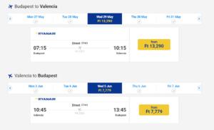 jeftine avio karte do Valensije