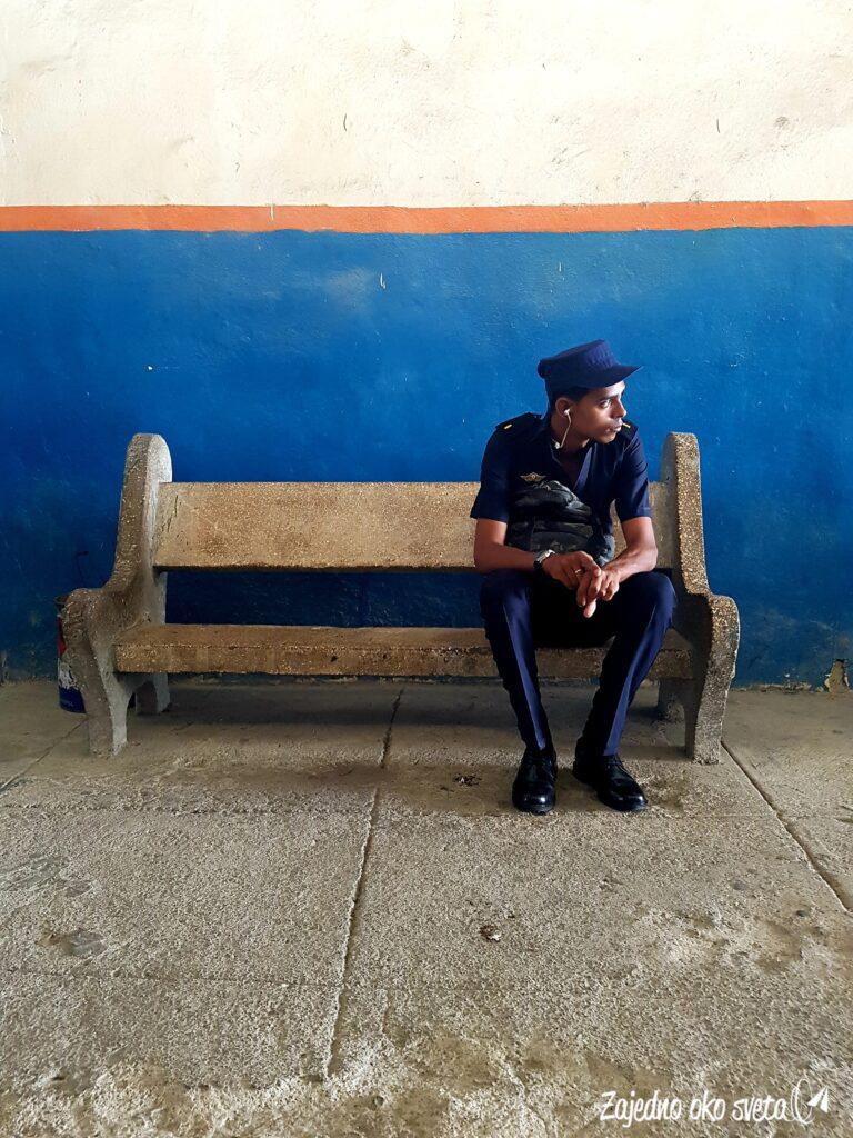 Policija na Kubi