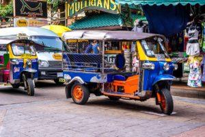 Tuk Tuk Tajland